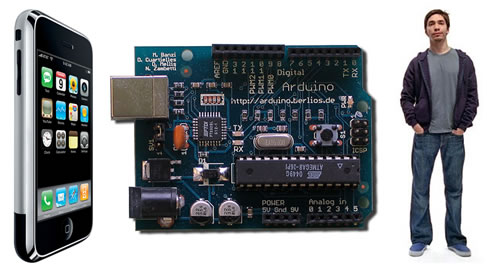"iPhone, Arduino 480 and the ""Mac Guy"""