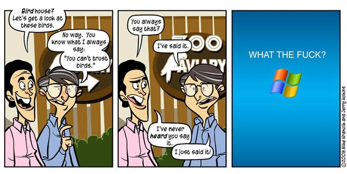 """Penny Arcade"" comic on the Seinfeld/Gates TV spots"