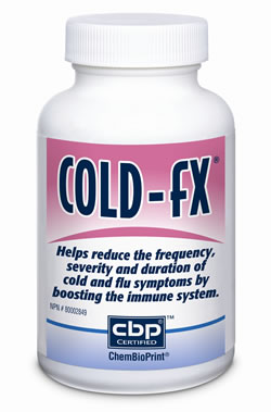 Bottle of Cold-fX