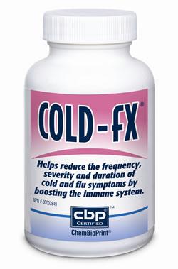 Bottle of Cold-fX