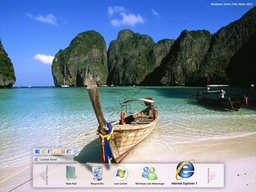Purported Windows 7 screenshot