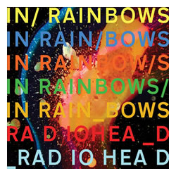 "The real cover of Radiohead's ""In Rainbows"" album"