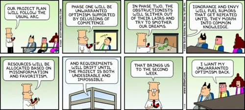 Dilbert comic for November 9, 2008