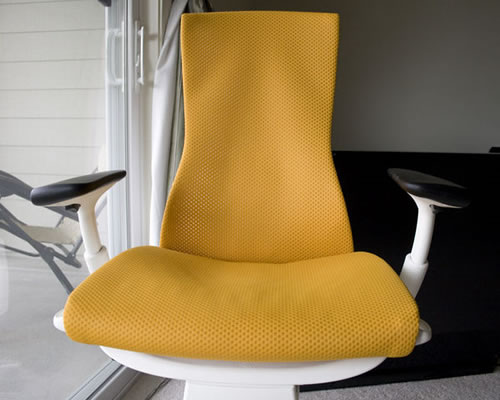 itu0027s also supposed to be a chair made from nontoxic and sustainable materials and 42 recycled content the entire chair is 95 recyclable - Herman Miller Embody Chair