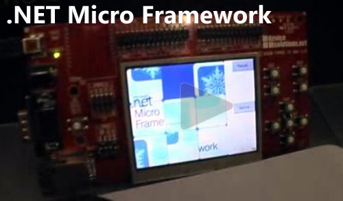 "Still from Joey deVilla's "".NET Micro Framework"" interview"