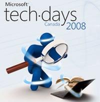 Microsoft Tech Days Canada 2008 logo