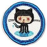 """Open Source Contributor"" nerd merit badge"