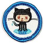 """""""Open Source Contributor"""" nerd merit badge"""