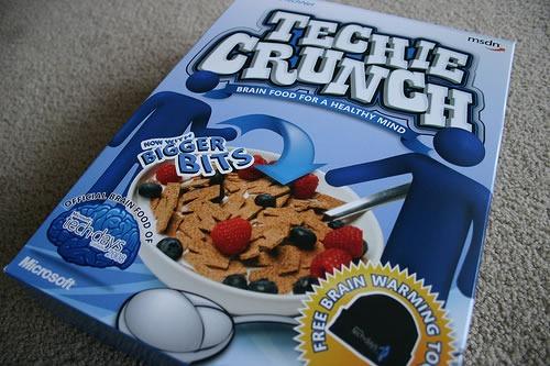 "Box of ""Techie Crunch"""