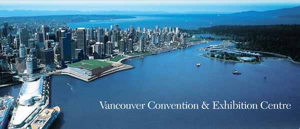 Fog-free picture of the Vancouver Convention Center