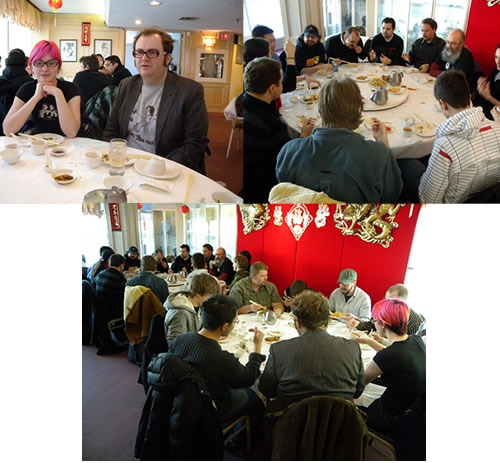 Photos from the last Developer Lunch