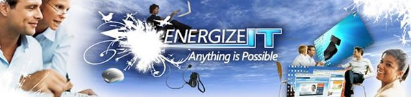 Banner: EnergizeIT - Anything is possible