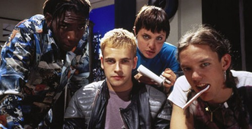 "The cast of ""Hackers"""