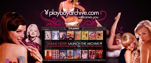 Playboy archive home page