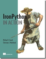 "Cover of ""IronPython in Action"""
