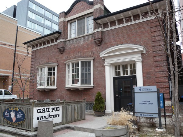 Graduate Students' Union building at the University of Toronto