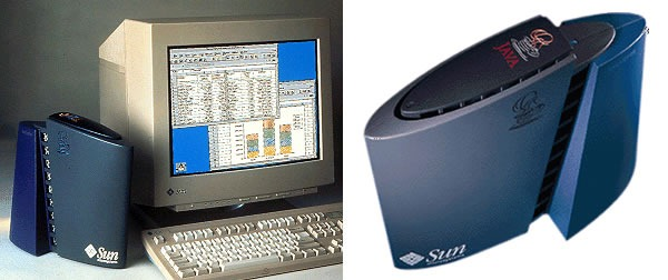 "Sun's ""JavaStation"" network computer"