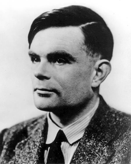 Photo: Alan Turing