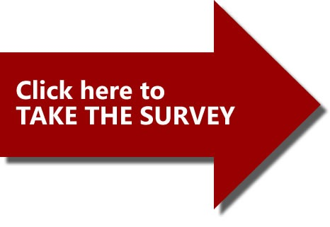 "Big red arrow: ""Click here to TAKE THE SURVEY"""