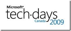 Microsoft TechDays Canada 2009