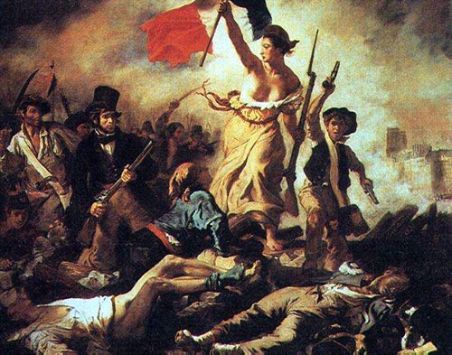 "Painting: ""Liberty"" (from the French Revolution)"