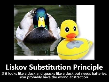 Small Liskov Substitution Principle poster