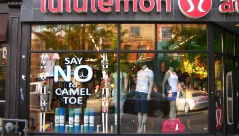 Lululemon store on Queen Street West