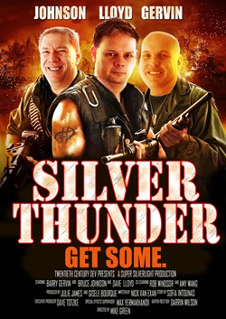"""Silver Thunder"" parody poster for ""Silverlight on the Silver Screen"""