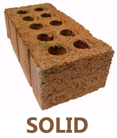 "Brick with the word ""SOLID"" beneath it"