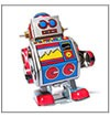 Demo icon (a toy robot)