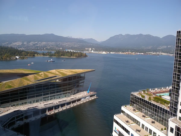 Vancouver Convention Centre and water