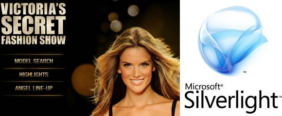 Victorias Secret Fashion Show and Microsoft Silverlight