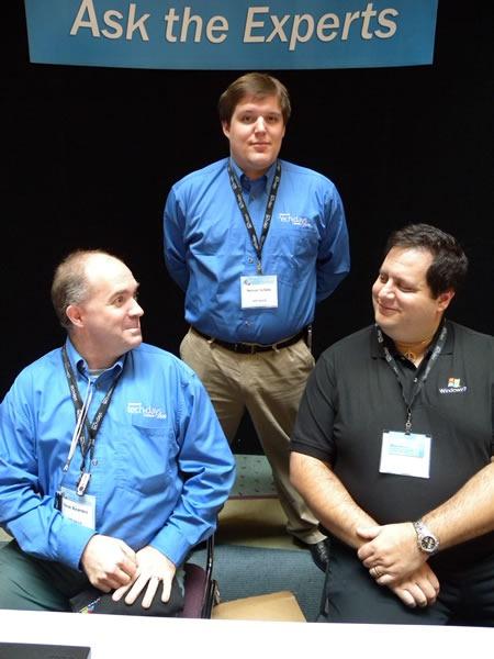 Sean Kearney, Steve Syfuhs and Mitch Garvis