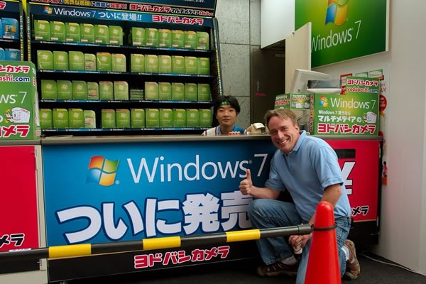 linus torvalds and windows 7
