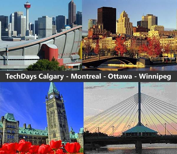 techdays_calgary_montreal_ottawa_winnipeg