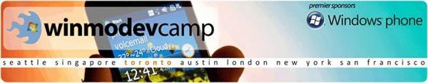 WinMoDevCamp banner