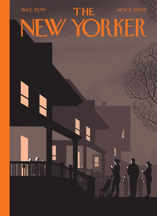 New Yorker Halloween Cover