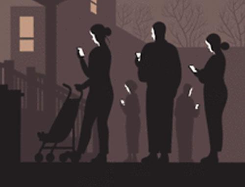 New Yorker Halloween Cover closeup