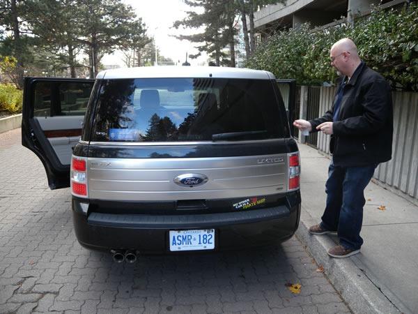 01 ford flex rear