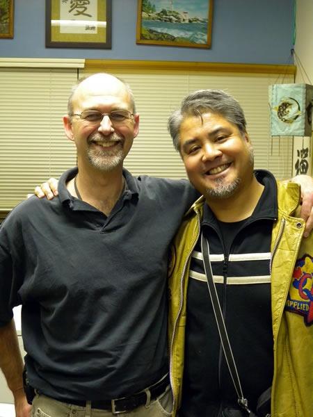 Dr. Robin Dawes and Joey deVilla