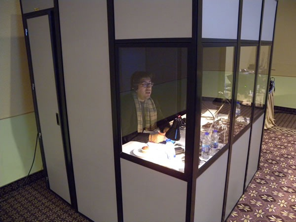 10 translation booth