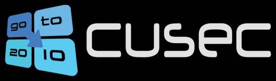 CUSEC 2010 logo