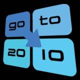 "CUSEC 2010 ""goto 10"" logo"