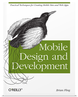 "Cover of ""Mobile Design and Development"""