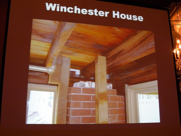winchester house chimney