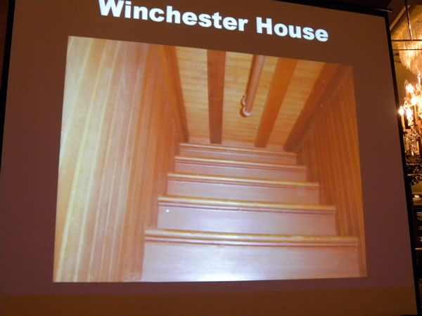 winchester house stairs