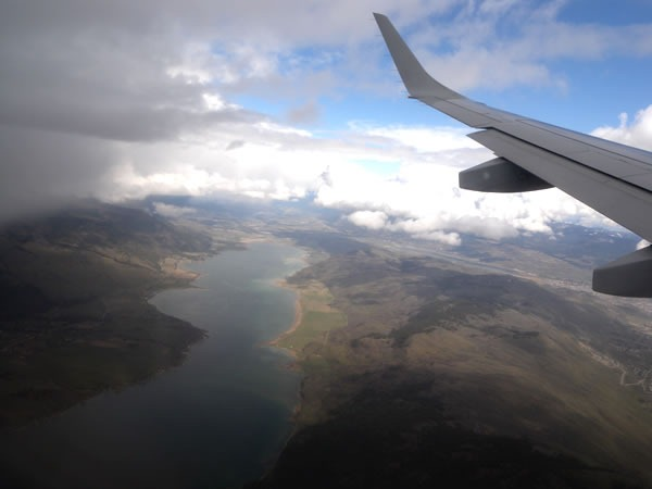Okanagan Valley, as seen from my plane window