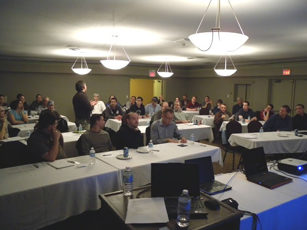 The audience at the Kelowna EnergizeIT session