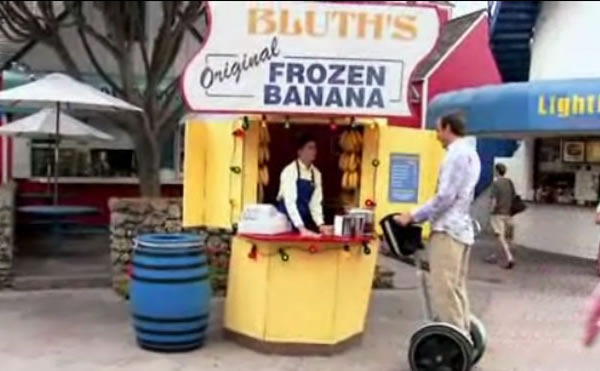 """Bluth's Frozen Banana"" stand from ""Arrested Development"""