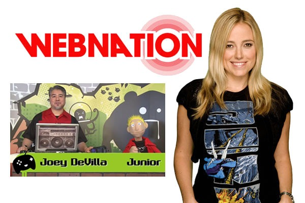"Webnation: Amber Mac, Joey deVilla and ""Junior"""